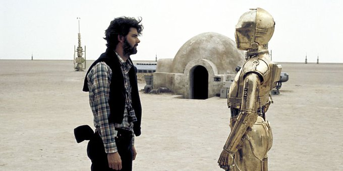 Happy Birthday to George Lucas. One of the most under appreciated directors today and one of my all time idols