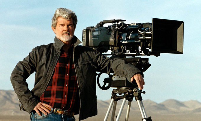 Happy Birthday to my hero George Lucas! His imagination is dwarfed only by his generosity. Inspiring!!