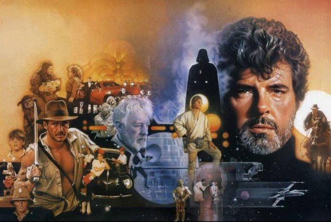 Happy 73rd Birthday George Lucas -