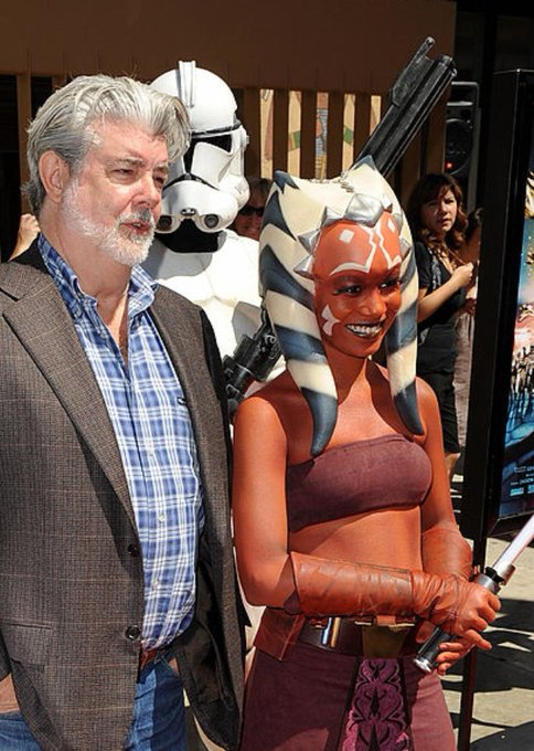 Wishing the Maker, George Lucas, a very Happy Birthday! May The Force Be With You!