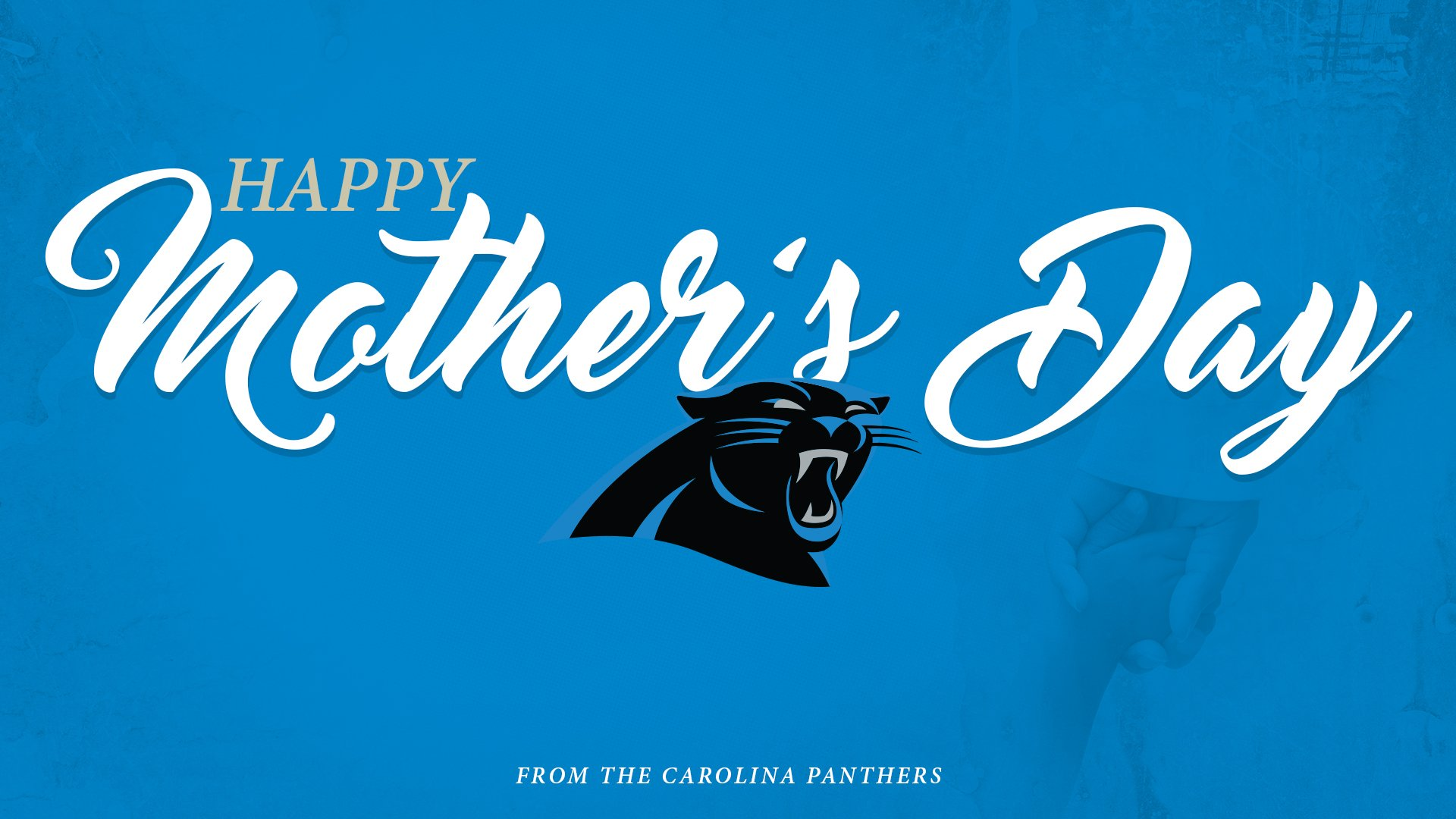 #HappyMothersDay to all the moms in the #Panthers family! https://t.co/Y295a94tFF