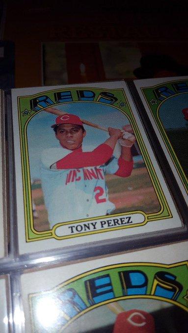 Happy birthday, Tony Perez!