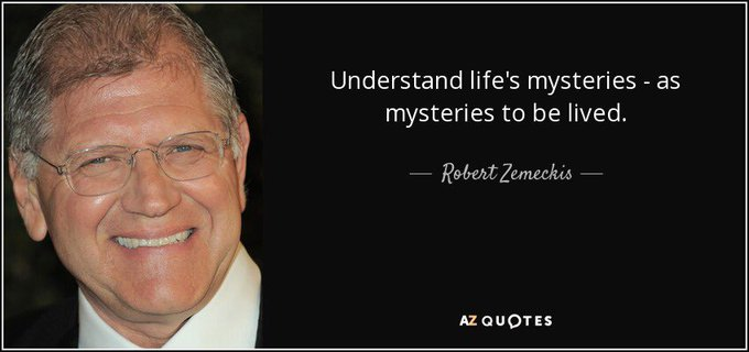 Happy birthday to Robert Zemeckis!