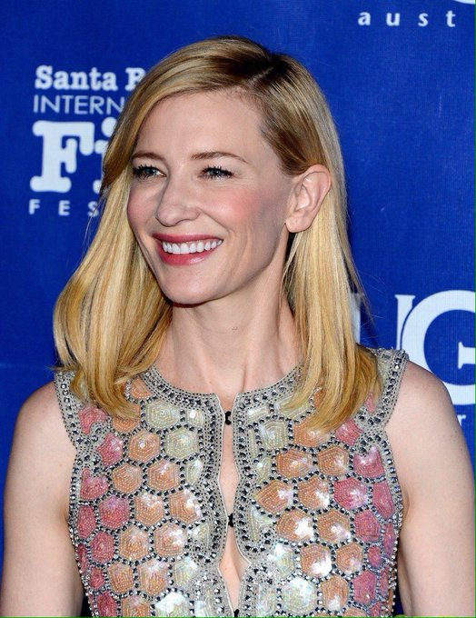 happy happy birthday to this adorable snowflake, queen, and legend, cate blanchett! u have my heart. XX