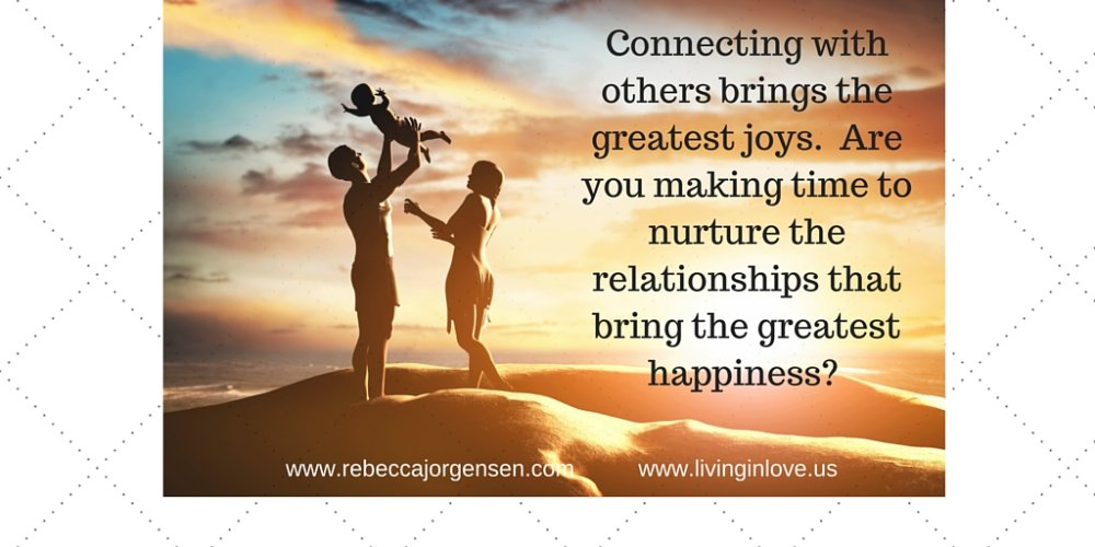 Make an intentional effort to #connect and #nurture your #relationships.  It increases #happiness. =-) https://t.co/WfrCrdHC8v