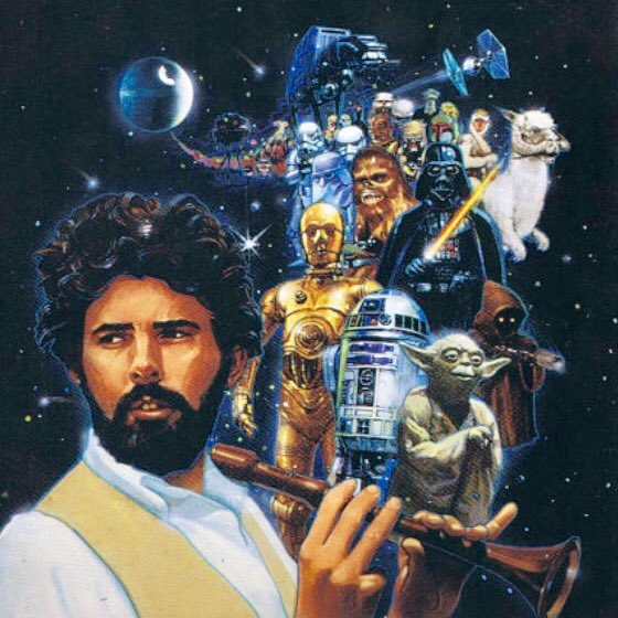 Happy Birthday to our main man, George Lucas. May you get a big chair for your day.