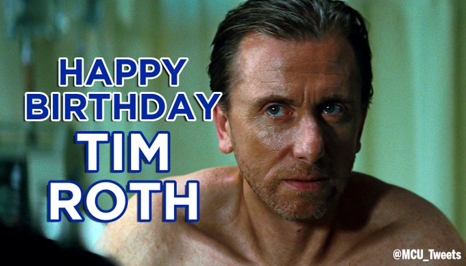 Wishing Tim Roth, who played Emil Blonsky / Abomination in THE INCREDIBLE HULK, a very happy 56th birthday!
