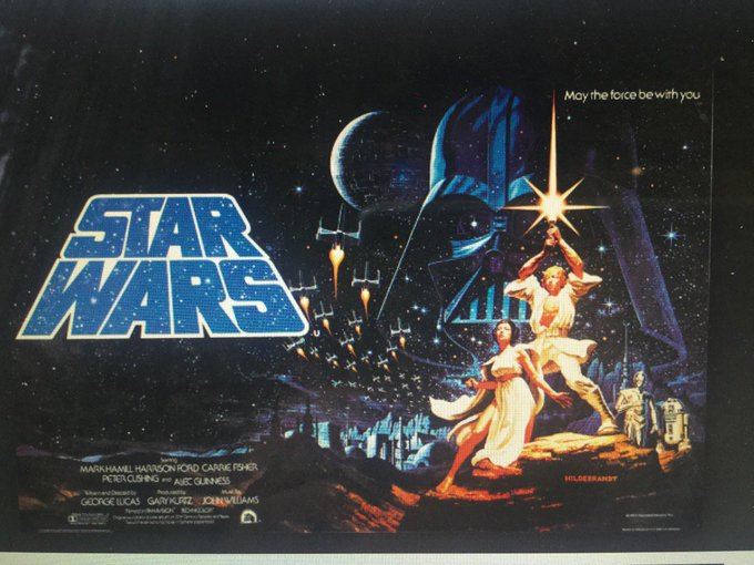 Happy 73rd Birthday George Lucas! I remember seeing your film \Star Wars\ in 1977. You should have made a sequel.