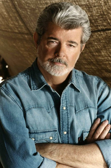 Happy birthday to my lord! ( NOT BIAS AT ALL ._.) George Lucas!