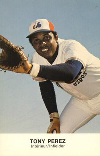 Happy 75th Birthday to Hall of Famer and former Montreal Expos first baseman Tony Perez!