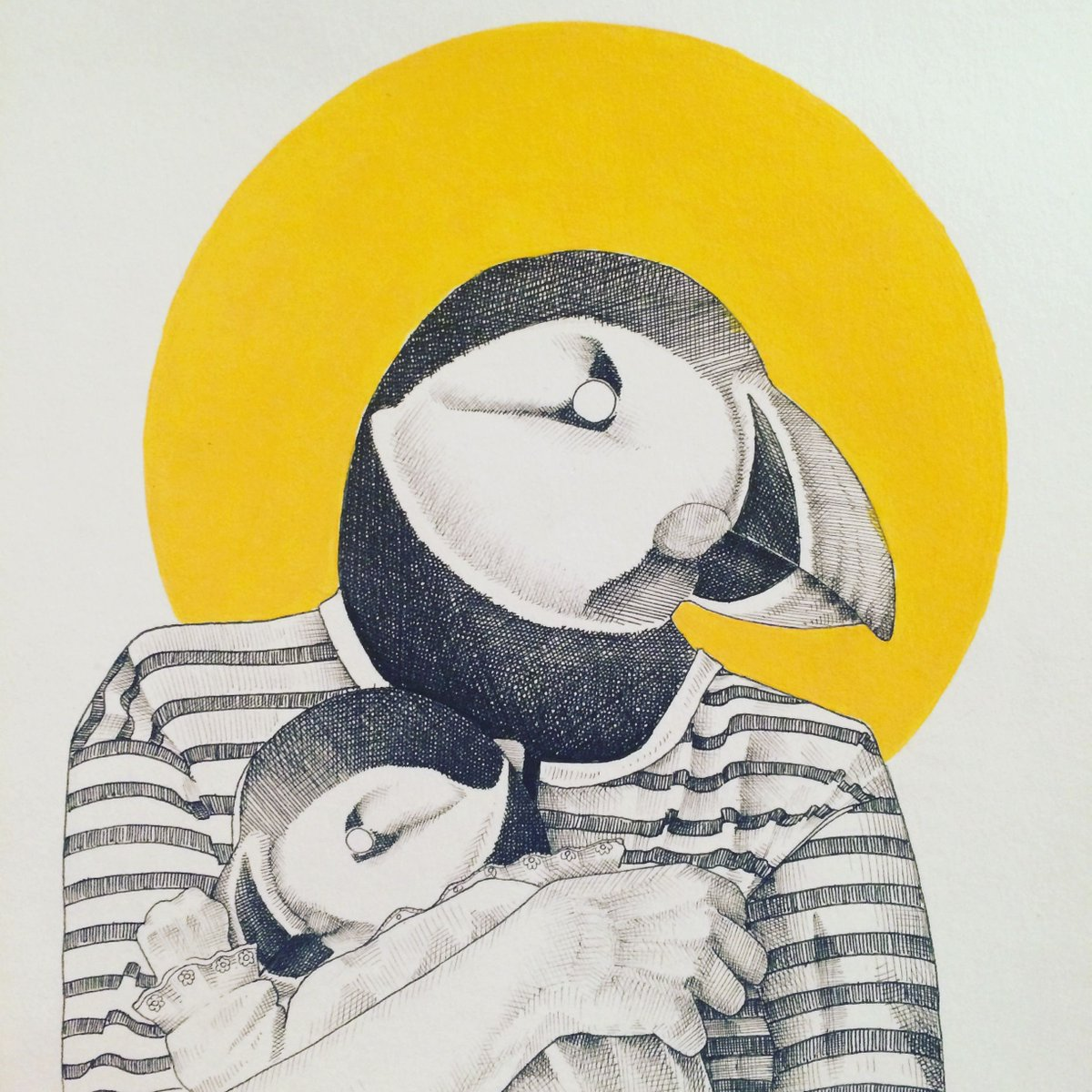 On this Mother's Day, let's not forget about all the momma puffins out there.. https://t.co/e3y78GU21n https://t.co/nDGONi6BzD