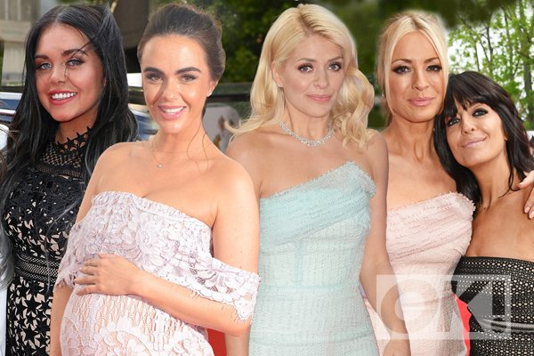 BAFTA TV Awards: stars turn heads as they arrive on the red carpet