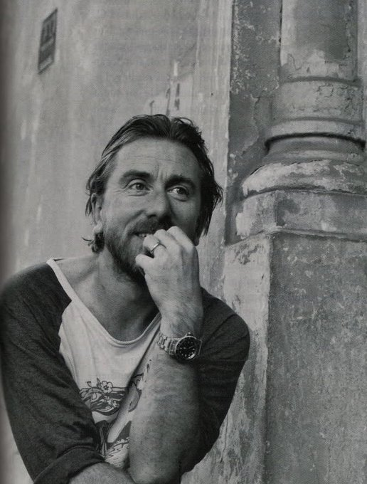 With whom I once made eye contact though I\m sure he doesn\t remember. Happy birthday Tim Roth