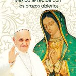 """#BienvenidoFrancisco @Pontifex_es """"Misionero de Misericordia y Paz"""" https://t.co/UBG4y5QjtZ"""