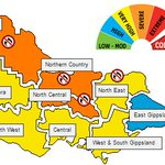 Tomorrow has been declared a Total Fire Ban in the Mallee, Northern Country, North Central and North East districts. https://t.co/c2CEjed5kq