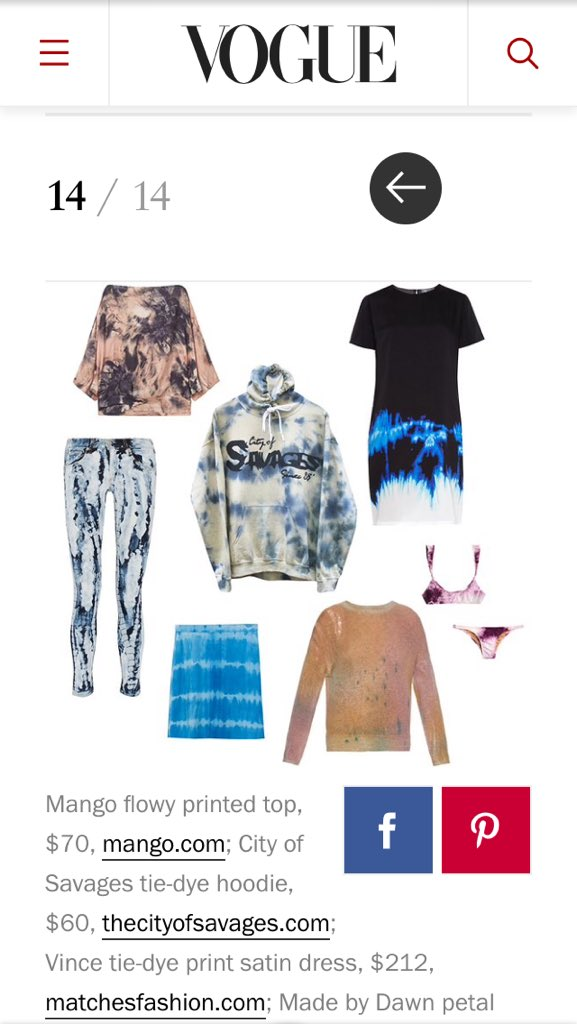 .@voguemagazine lists our Tie Dye (Camo) Hoodie as one of the best pieces under $220 for Spring 2016 https://t.co/T0HXGKs504