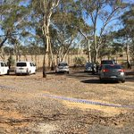 Police have set up a crime scene in bushland near #Bendigo re Samantha Kelly inquiry. More: https://t.co/iox0nMoT5r https://t.co/xSMRR4eIcp