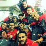 Sevilla!! Una vez más...Orgulloso de este equipo y de su trabajo. Vamos Sevilla! Vamos...!! ⚪️🔴 #juntoshastaelfinal https://t.co/tPHjqpQHvm