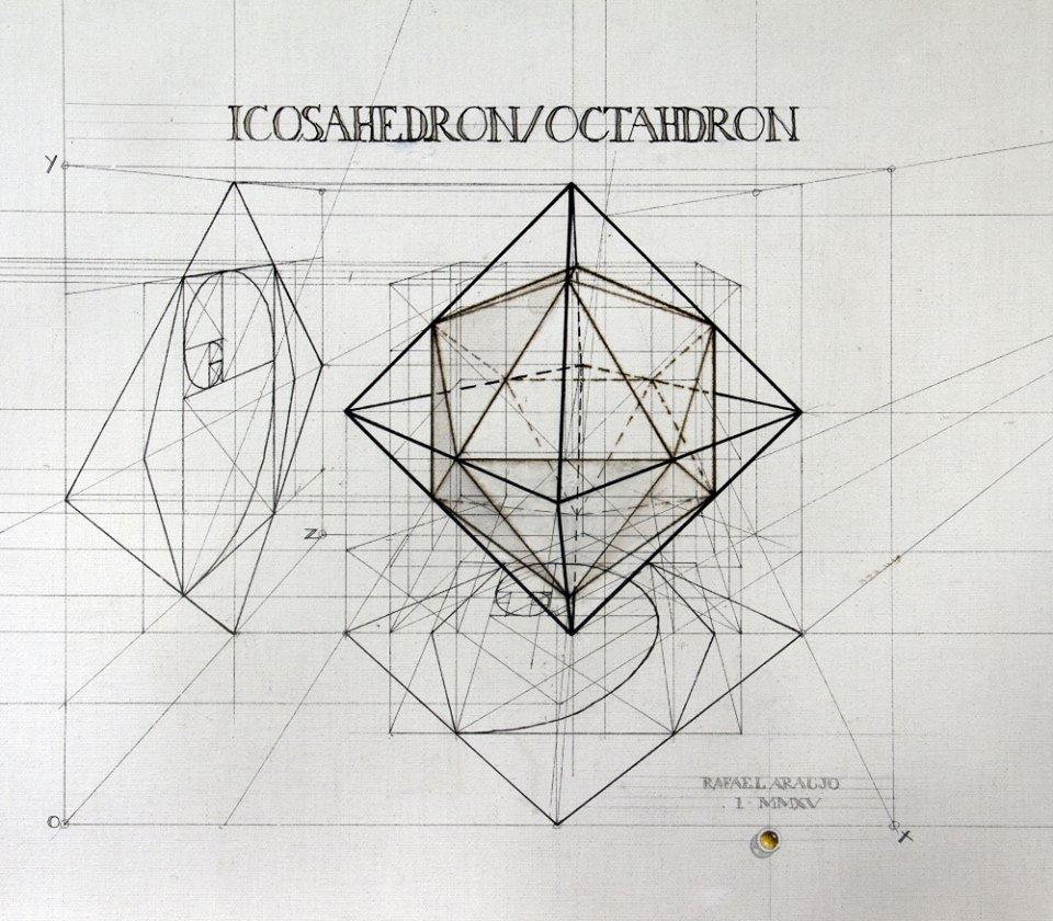 Dual Polyhedron Icosahedron-Octahedron https://t.co/RD3ieGcyOi