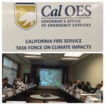 Making great progress w/CA Fire Service Leaders & climate science experts on climate change impacts & adaptation! https://t.co/X0in7F87TD
