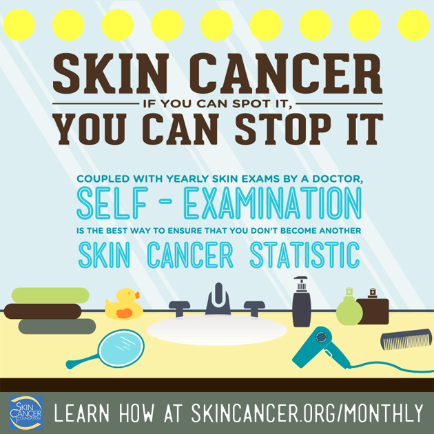 FACT: 1 person dies from #melanoma every hour. Learn 8 easy steps that might save your life. https://t.co/cBi9iO1c4v https://t.co/KlUYviglU4