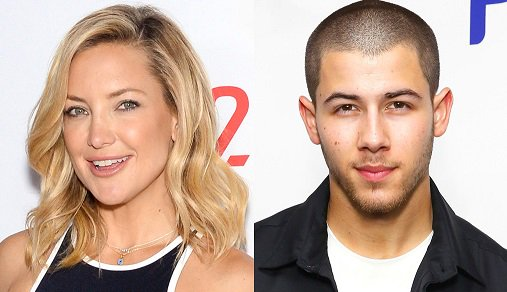 Kate Hudson & Nick Jonas reunite and shared