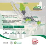 #Infografia Operativo Especial de @SECTUR_mx y @AngelesVerdesMX por visita del #PapaEnMex @ConElPapa https://t.co/uqRsMQK1bg