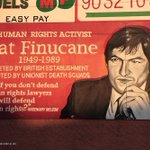 On this day in 1989 human rights lawyer Pat Finucane was murdered by Brit terrorists in collusion with British state https://t.co/1kqsPGQ5I5