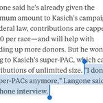 How much is that *huge* Ken Langone endorsement worth to Kasich? Well, about $2,700 ... https://t.co/G0rdUZi1Ji https://t.co/50cmJLTEi6