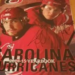 @NHLCanes Jeff Skinner autos that I got Tuesday @Backyardbistro @999TheFan #CanesCorner. Yearbook turned out nice https://t.co/WBH37XHpI5