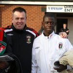 Afriyie Acquah an incredible story from the streets of Ghana to the World Cup via Glentoran Football Club in Belfast https://t.co/u9fbISUcQZ
