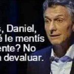"""El dólar cerró a $14,69 Devaluación en febrero: 4,1% Devaluación desde la asunción de Macri: 49,5% """"Mentís, Daniel"""" https://t.co/qIyM5ayJn6"""