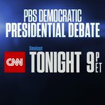 .@BernieSanders and @HillaryClinton face off in The PBS NewsHour #DemDebate being simulcast on CNN 9 p.m. ET https://t.co/XCmGBklBMD