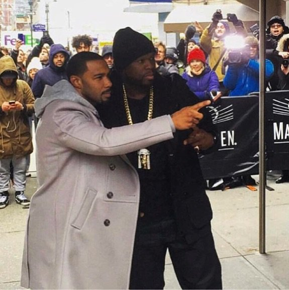 Me and my boy Omari went to check out Kanye's fashion show. #EFFENVODKA #FRIGO #SMSAUDIO https://t.co/gbbhOH7L2f https://t.co/8HO4BxnHWG