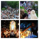 Mar del Plata. Celebración Lourdes. Foto @tarro19 https://t.co/H1XXuKpa2V