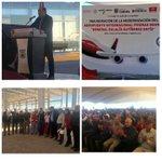 Inauguración de obras de modernización de Aeropuerto Int. @MpioPNegras Grl Eulalio Gutiérrez Ortíz @rubenmoreiravdz https://t.co/IoeO4hwqnt