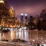 Frozen Pond. Central Park #NYC by @mitzgami https://t.co/njJiiw90FX