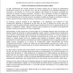 Esta sentencia del TSJ solo deja Clarísimo que es eminente activar el mecanismo constitucional para salir de Maduro https://t.co/mFiTGipGW3