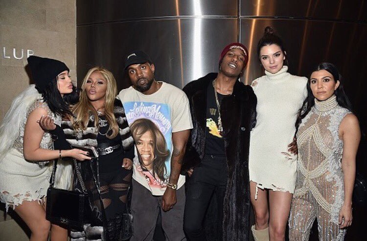 Check out this new #YeezySeason3 snap featuring Lil Kim, the Kardashians & A$AP Rocky! #TLOP https://t.co/UtoK0F9R8f