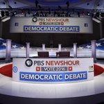 Starting now! Tune in to the #DemDebate on @NewsHour and @CNN. https://t.co/qBgUNDukKg