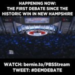 HAPPENING NOW: The first #DemDebate since the historic 20+ point win in NH! WATCH: https://t.co/q26ZvtsrYT https://t.co/eeDxjHfN2P