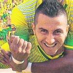 """""""Estoy contento de volver al @OFICIALATBUCARA"""": Jhon Pérez confirmando a @DeportesTRO que será refuerzo leopardo https://t.co/BlkQcl4fi6"""