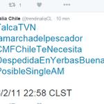 Mira @AbrahamMateoMus somos tendencia en Chile no sabes como t extrañamos, quiero abrazarte pronto #PosibleSingleAM https://t.co/DO0KcBNYoL
