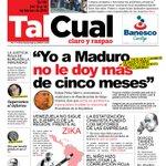 5 MESES le quedan a Maduro en el poder según el exministro Felipe Pérez Martí Léalo en semanario TalCual, por Bs 150 https://t.co/M1ce8Nxcuc