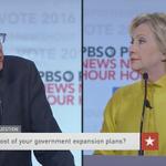 "Sanders: ""Secretary Clinton, youre not in the White House yet"" https://t.co/b3DQLJdY6p #DemDebate https://t.co/MultnIRv2w"