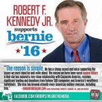 Why has Robert F Kennedy Jr endorsed #Bernie2016? #DemDebate #DemDebate https://t.co/tMVI7yAC3k
