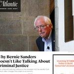Why Bernie Sanders Doesnt Like Talking about Criminal Justice: https://t.co/Bb5EkheDUk #DemDebate https://t.co/yoJoNE3BiH