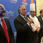 El sector restaurantero de la #CDMX genera 227 mil 764 empleos @TorrucoTurismo en la inauguracion @LaMansionMex https://t.co/Gg3rtOKon5