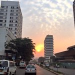 Beautiful dawn in the heart of #Kampala! #KCCAat5 #ILoveKampala #ILoveMyCity #Africa #Uganda https://t.co/2whL6wTlyO