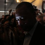 Still going: Ben Carson pushes on to South Carolina and Nevada https://t.co/VxaTBb3oq1 #NHPrimary https://t.co/7LSYpRsKS6